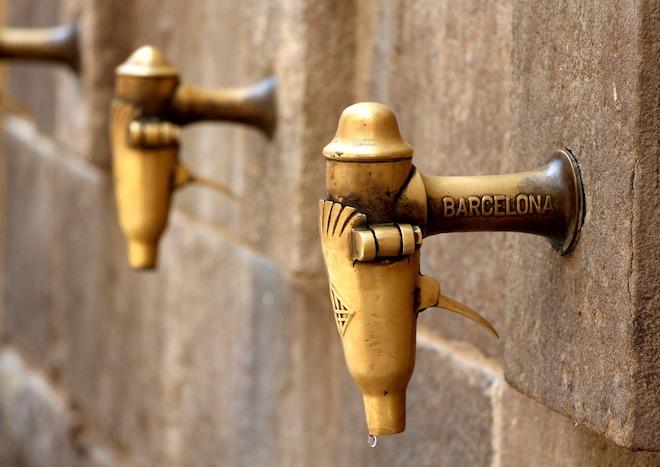 grifo de agua barcelones