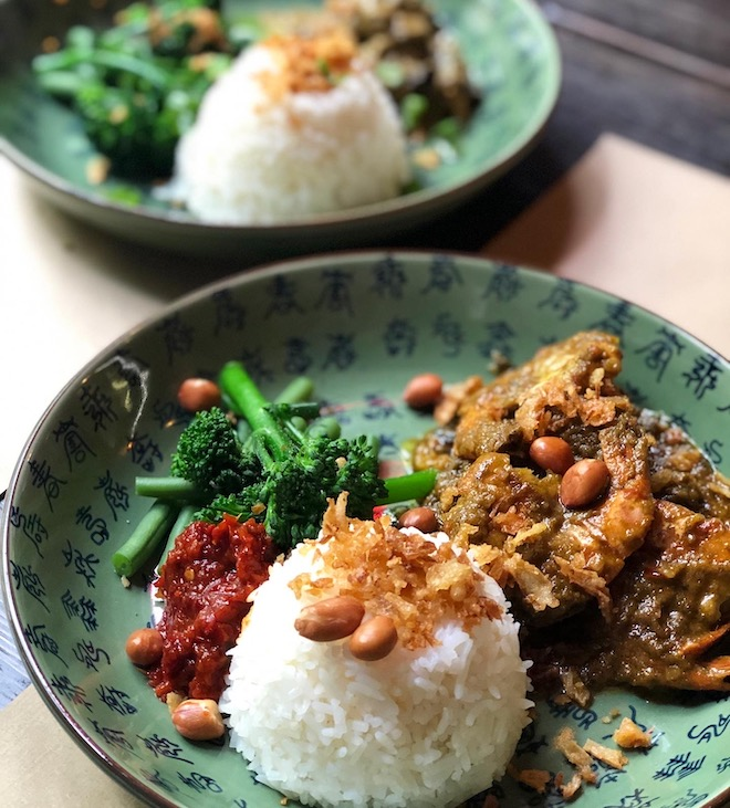 cocina indonesia Rendang