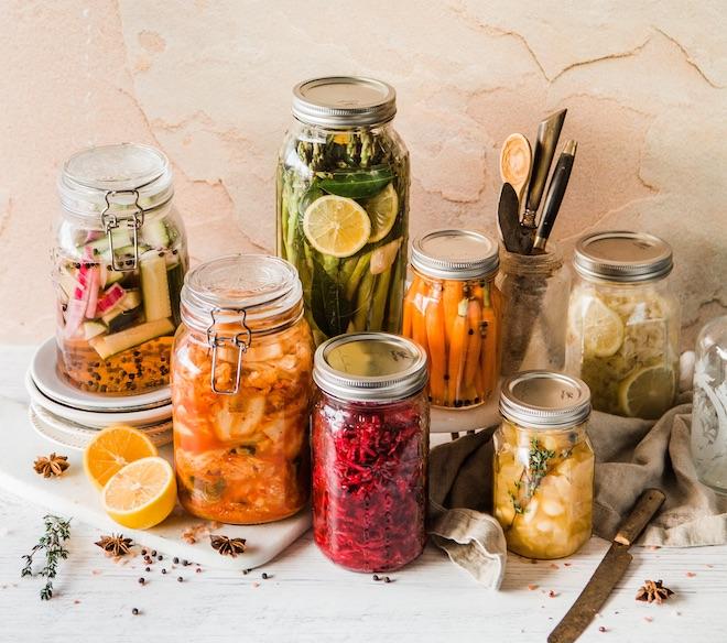 alimentos fermentados caseros
