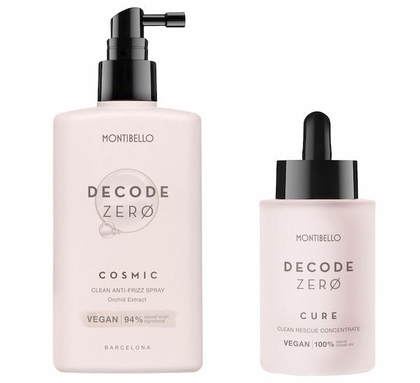 cosmetica capilar vegana Decode Zero montibello