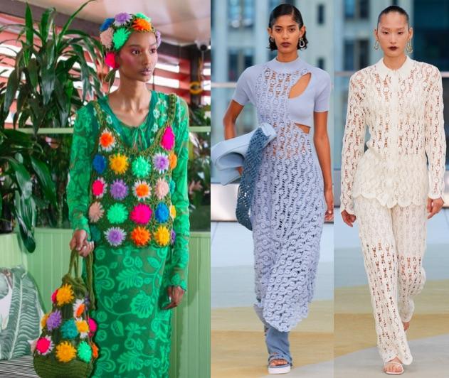 tendencias nyfw ss2022 crochet
