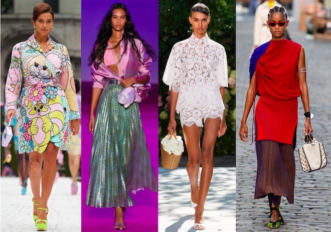 tendencias primavera verano 2022 NYFW